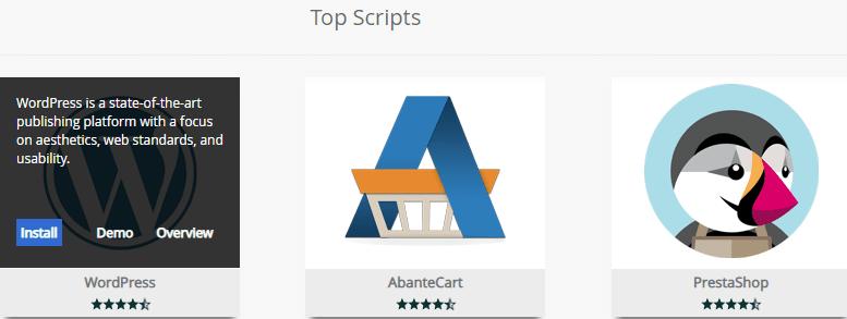 Softaculous WordPress icon