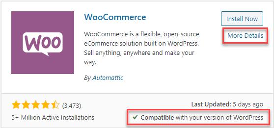 checking plugin compatibility