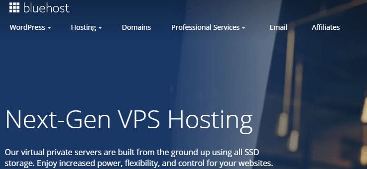 bluehost cloud vps