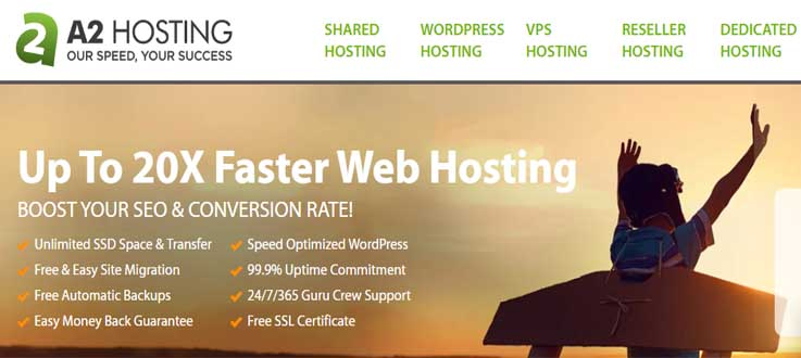A2hosting cost-effective alternative for Hostinger
