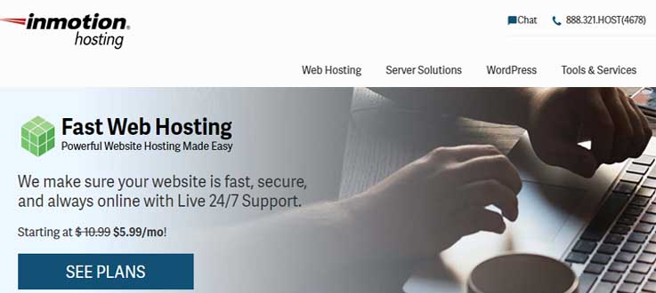Inmotionhosting a good competitor to Hostinger