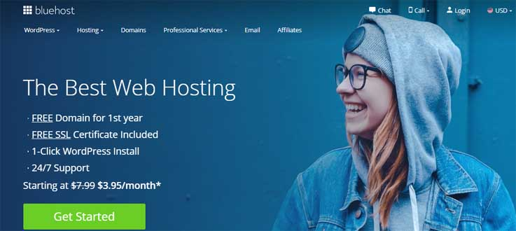 bluehost best hostinger alternatives