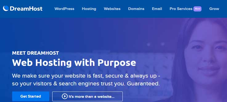cheap domain and web hsting - dreamhost